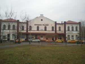 gara de plecare auobus pe ruta Bucuresti-Chisinau